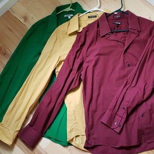 Set of 3 mens dress shirts